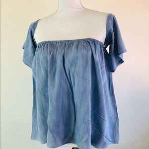 NWT Peasant Top by SAGE